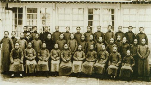 【校服历史】中国近代校服老照片
