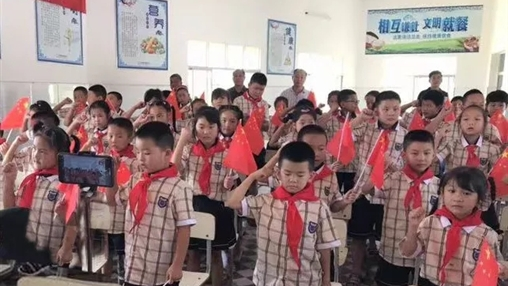 百裕集团爱心助学之行---湖北省监利县
